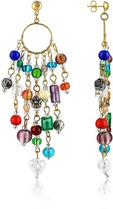 Antica Murrina Brio - Murano Glass Bead Chandelier Earrings $98 thestylecure.com