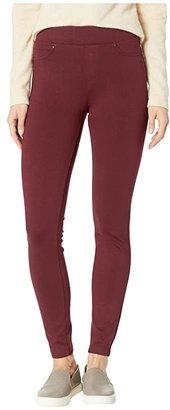 Liverpool Sienna Pull-On Ponte Legging (Rosette) Women's Clothing