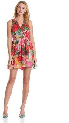 Jack by BB Dakota Women's Cherry Fit and Flare Dress