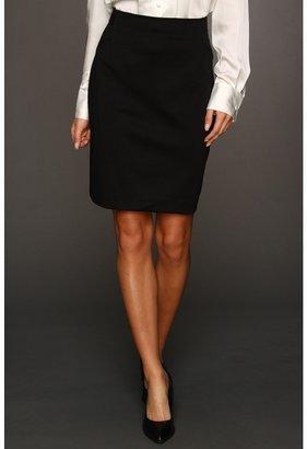 Kenneth Cole New York - Seamed Ponte Pencil Skirt (Black) - Apparel