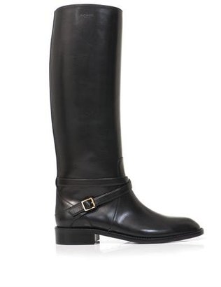 Saint Laurent Cavalière riding leather boots
