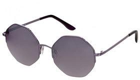 Topshop Hexagon Rimless Sunglasses