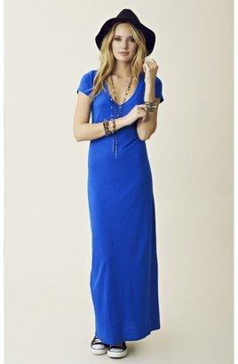 Blue Life T-Shirt Maxi Dress
