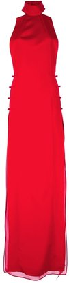 Emilio Pucci backless halter neck dress