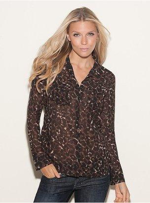 GUESS Isabel Leopard-Print Shirt