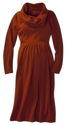 Merona Maternity Long-Sleeve Cowl-Neck Sweater Dress - Assorted Colors