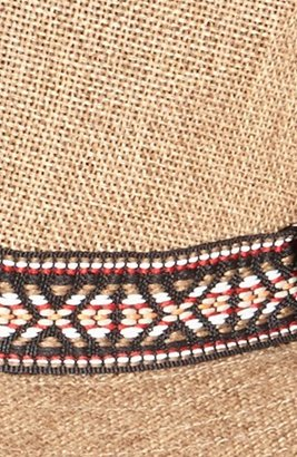 Obey 'Vagabond' Fedora Light Brown One Size