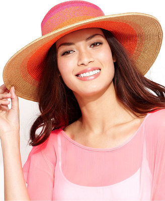 Nine West Packable Bright Floppy Hat