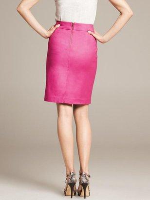 Banana Republic Pink Pencil Skirt