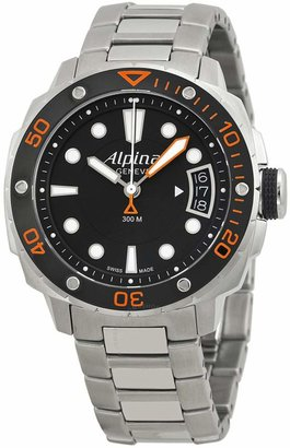 Alpina Extreme Diver 300 Black Dial Steel Bracelet Ladies Watch