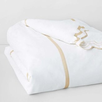 Matouk Mirasol Duvet Cover, Full/Queen