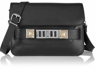 Proenza Schouler - Ps11 Mini Leather Shoulder Bag - Black $1,875 thestylecure.com