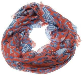 Temperley London leopard tile scarf i
