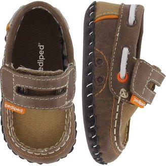 pediped Originals Naples (Infant) - Brown-XS (0-6 Months)