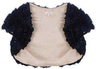 P.A.R.O.S.H. Bouquet silk shoulder shrug