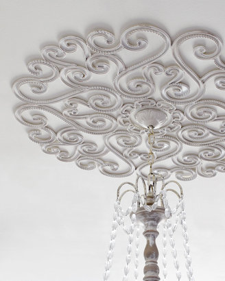 Horchow Rope-Edge Ceiling Medallion