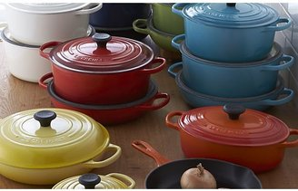 Crate & Barrel Le Creuset ® Signature Oblong Cerise Red Grill Pan
