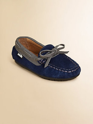 Venettini Toddler's & Boy's Suede Moccasins