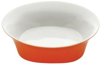 Rachael Ray Round and Square 10 in. Serving Bowl in Orange