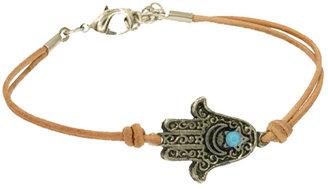 Ettika Silver Hamsa Bracelet