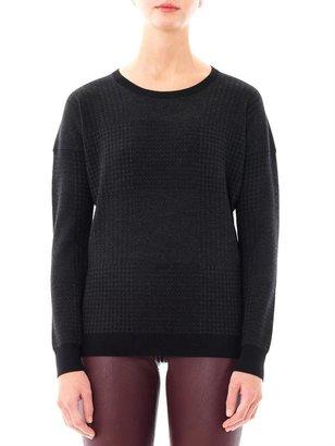 Theory Evian pow-check sweater