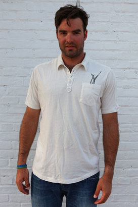Loomstate Maxwell Polo Ivory