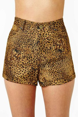 Nasty Gal Lucca Couture Deep Jungle Shorts