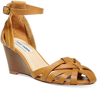 Steve Madden Nessie Ankle Strap Wedge Sandals