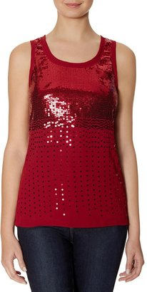 The Limited Cascading Sequin Tank