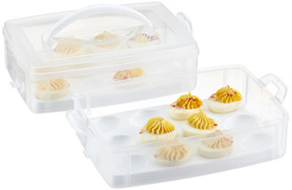 Container Store Snap 'N Stack Egg-Tainer
