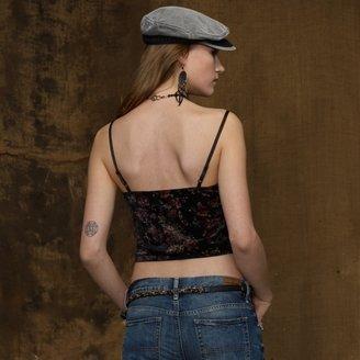 Denim & Supply Ralph Lauren Printed Velour Camisole