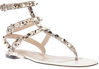 Valentino Garavani 'Rockstud' gladiator sandal