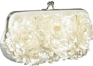 Jessica McClintock Floral With Pearl Center Frame