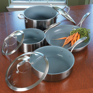Zwilling J.A. Henckels Sol Thermolon Cookware Set, 7 piece