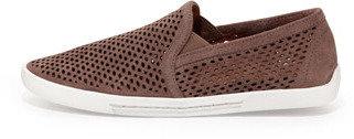 Joie Kidmore Perforated Suede Sneaker, Mink