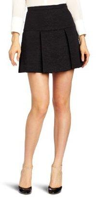 Robert Rodriguez Women's Brocade Flare Skirt