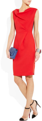 Roksanda Ilincic Amu two-tone wool-crepe dress