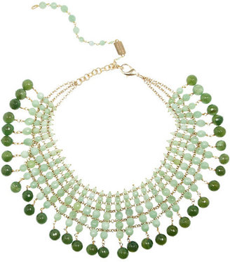Rosantica Orchidea gold-dipped, opal and agate necklace