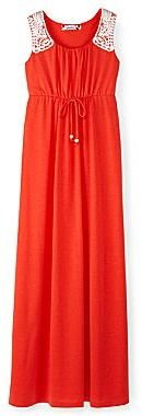 Speechless Coral Maxi Dress - Girls 7-16