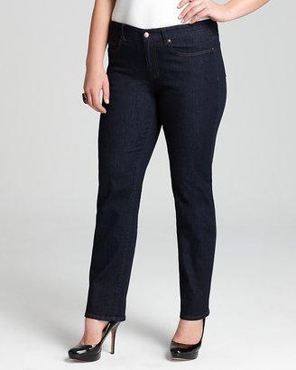 Eileen Fisher Plus Organic Straight Jeans in Indigo