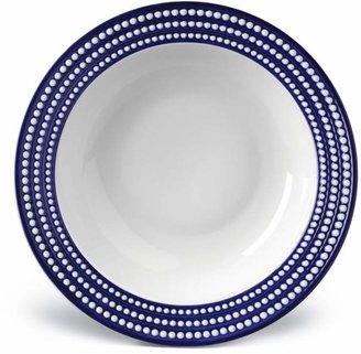 L'OBJET Perlee Bleu Round Serving Bowl