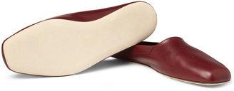 John Lobb Leather Slippers