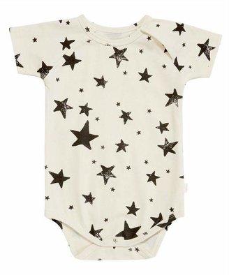 Noë & Zoe Short Sleeved Star Print Bodysuit 0-18 Months