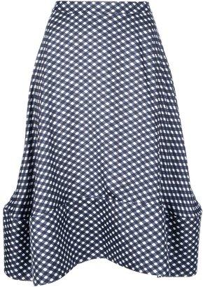 Stella McCartney check skirt