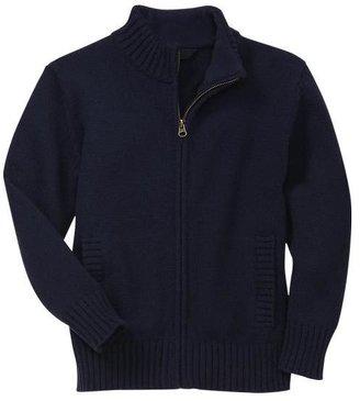 Gap Mockneck zip cardigan