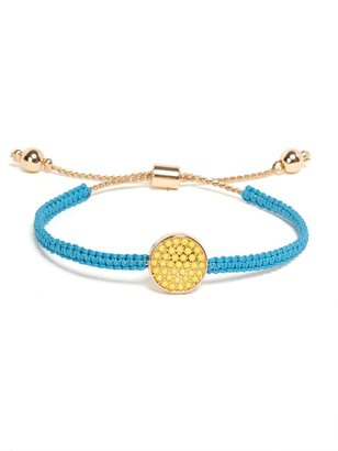 BaubleBar Blue and Yellow Pop Wrap