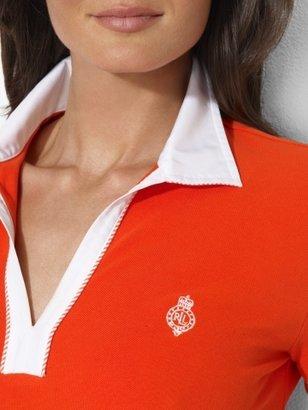 Ralph Lauren Open-Placket Cotton Polo