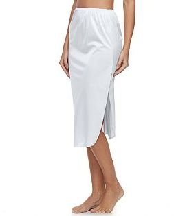 Vanity Fair® Satin GlanceTM Slit Pettislip 30-in. 11760 - Women's $17 thestylecure.com