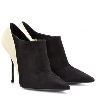 Roger Vivier Trancoso leather and suede boots