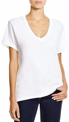 Current/Elliott Tee - The V-Neck $78 thestylecure.com